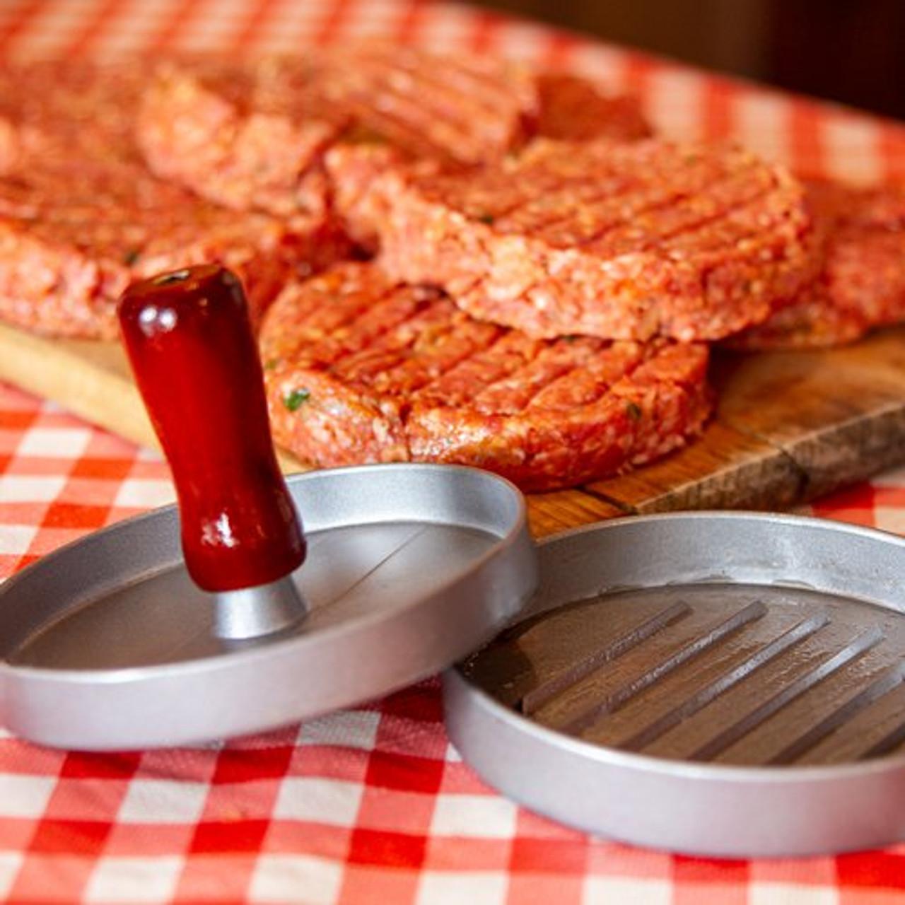 burger press aluminium