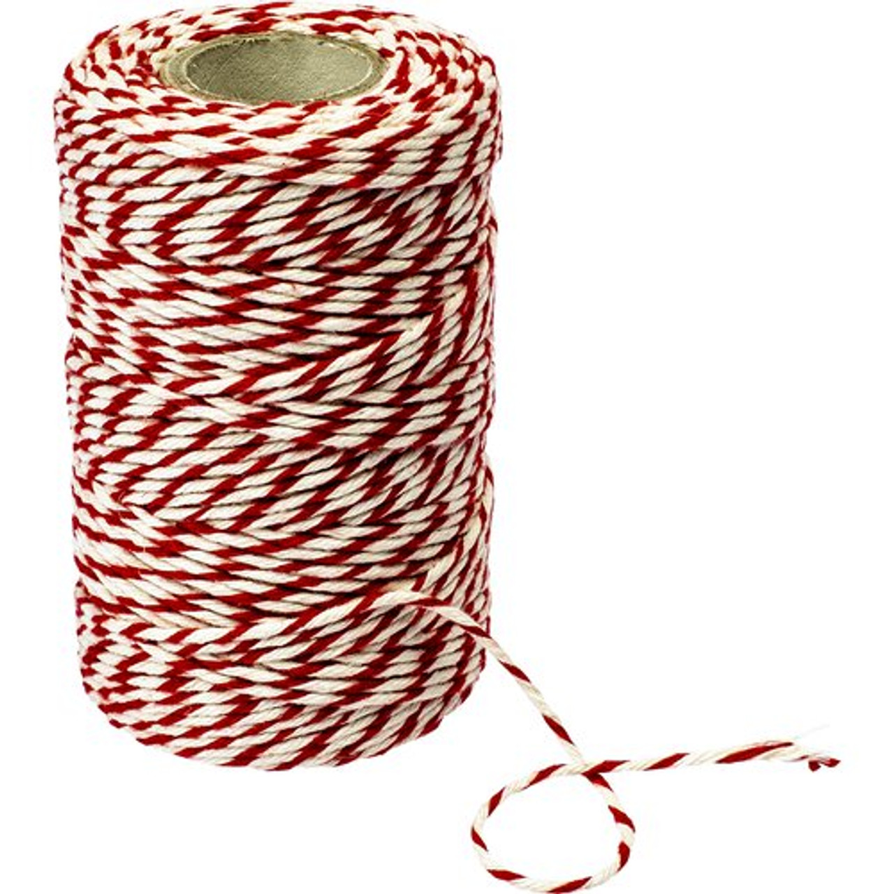 red white butchers twine, line