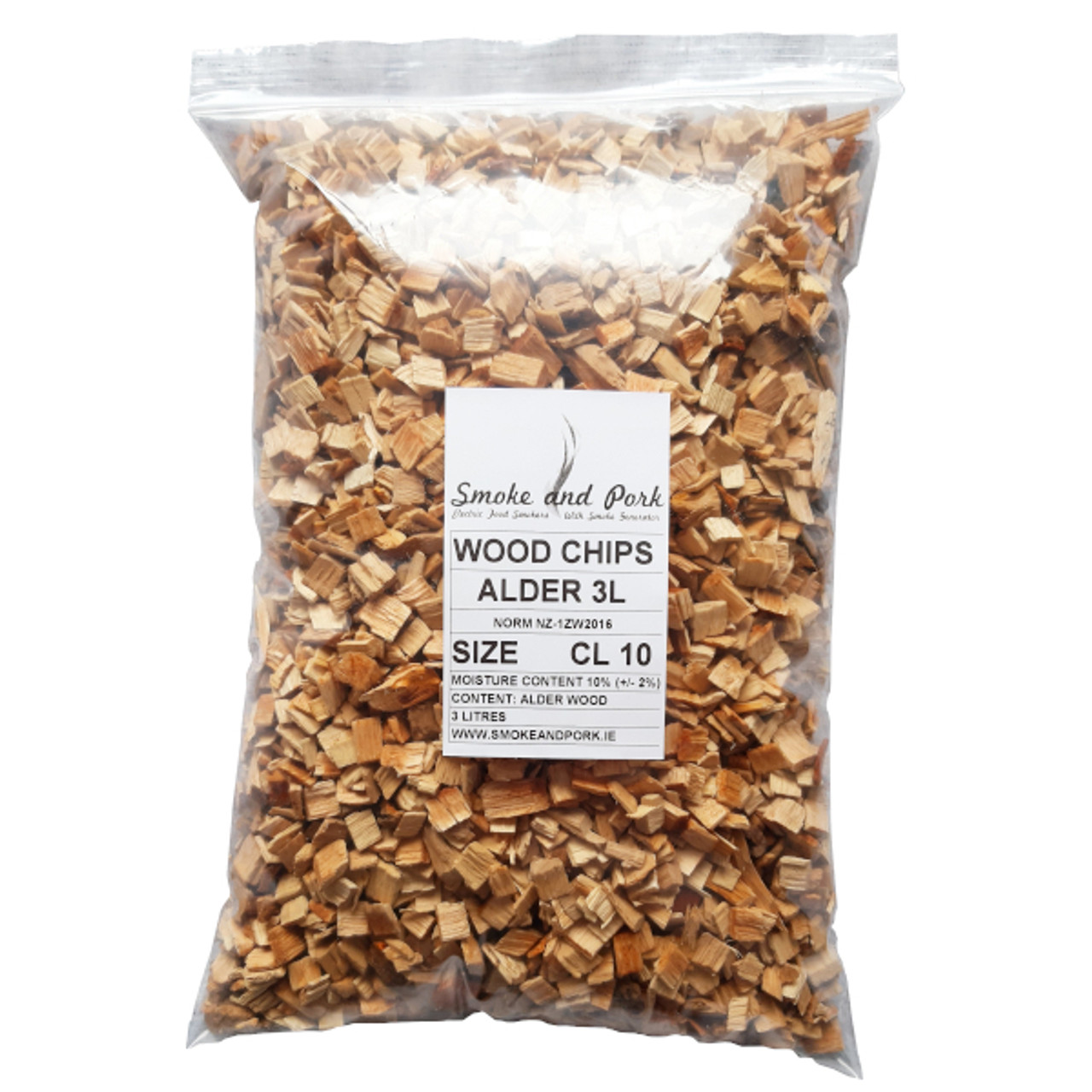 alder smoke and pork wood chips cl 10