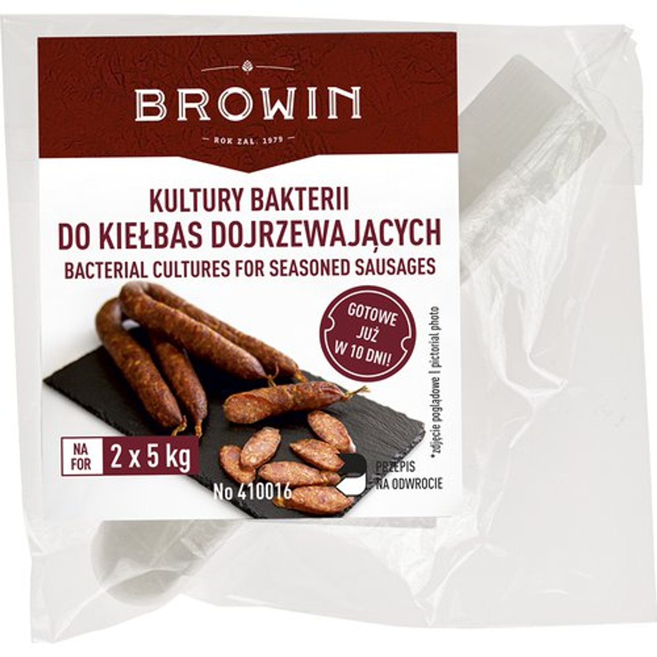Bacterial cultures for dry seasoned sausage 2g