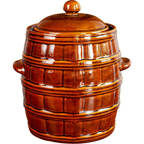 25l stoneware, claypot with water seal