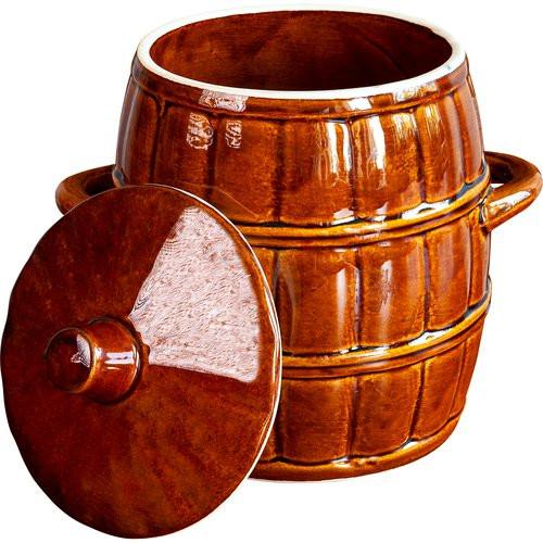 4,5 l clay pot, stone barrel
