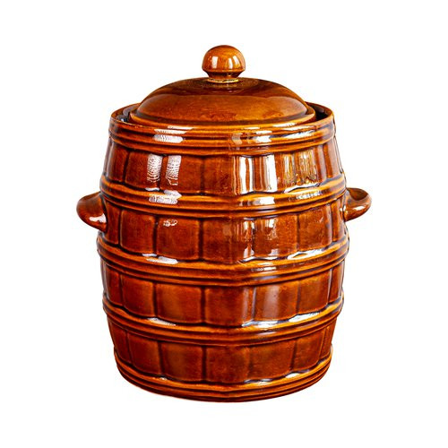 8l clay pot with water seal