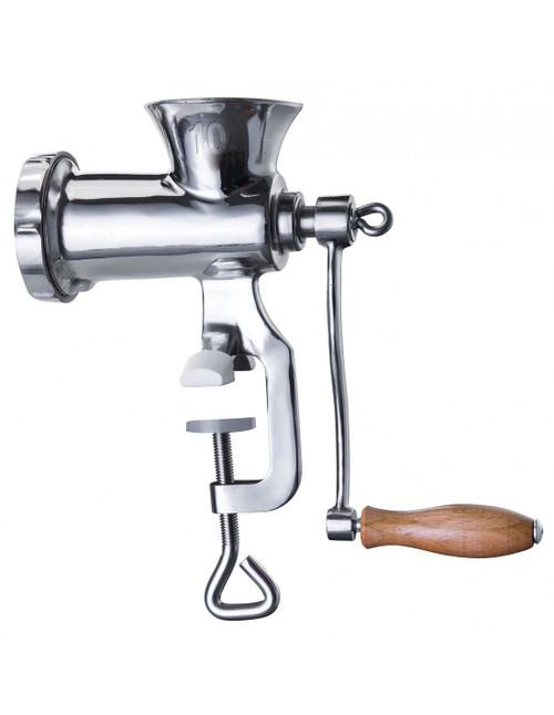 Stainless steel meat mincer grinder size #10 regular