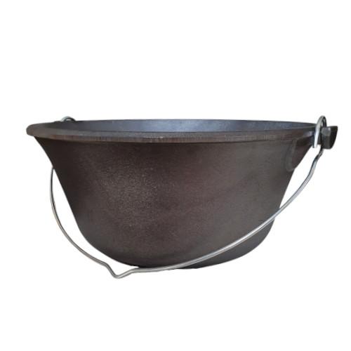 Grey Cast Iron Hungarian pot  10 l