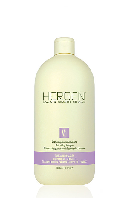 HERGEN V1 HAIR FALLING SHAMPOO 1000ml (21811)