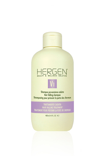 HERGEN V1 HAIR FALLING SHAMPOO 400ml (8012689218104)