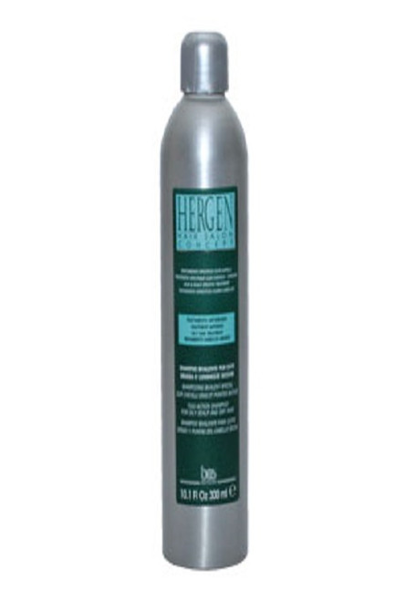 HERGEN ANTIDANDRUFF SHAMPOO FOR OILY HAIR WITH DRY ENDS 300ML/10.1OZ