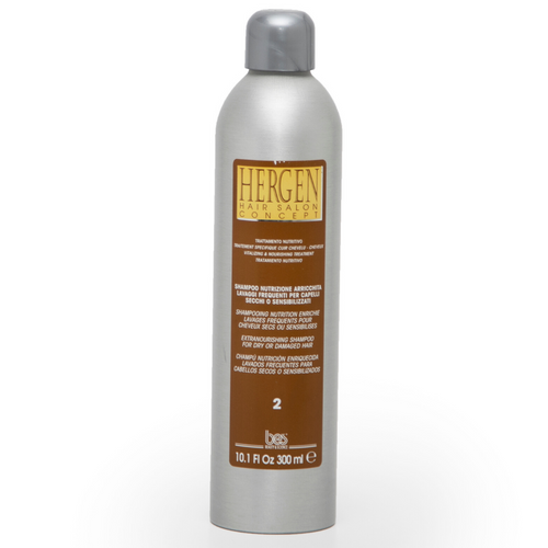 HERGEN NOURISHING SHAMPOO FOR NORMAL & DRY HAIR 300 ML/10.1 FL OZ.