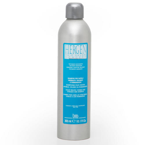 HERGEN SHAMPOO FOR COLOR TREATED, PERMED AND STRESSED HAIR
