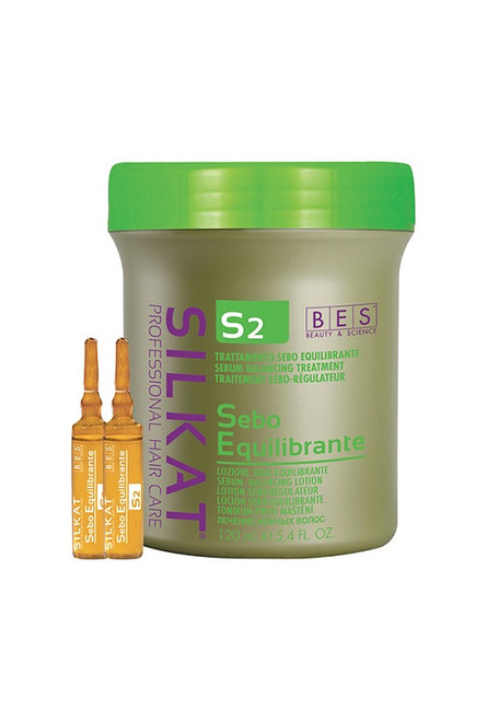 SILKAT S2 SEBO EQUILIBRANTE ACTIVE SERUM 120ML