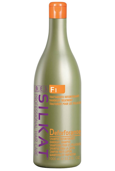 Silkat Dandruff Active Shampoo is formulated to fight dandruff and prevent recurrence.  The active ingredients normalises the flaking.
