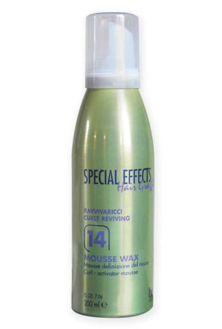 SPECIAL EFFECTS CURL - 14 MOUSSE WAX CURL ACTIVATOR MOUSSE 200 ML