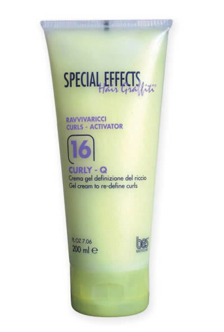 SPECIAL EFFECTS CURL -  16 CURLY-Q GEL CREAM TO REDEFINE CURLS