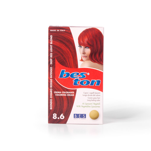 BES TON 8.6 DEEP RED LIGHT BLOND