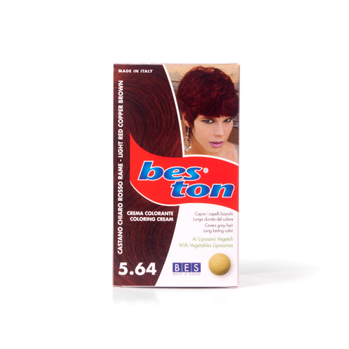 BES TON 5.64 LIGHT RED COPPER BROWN
