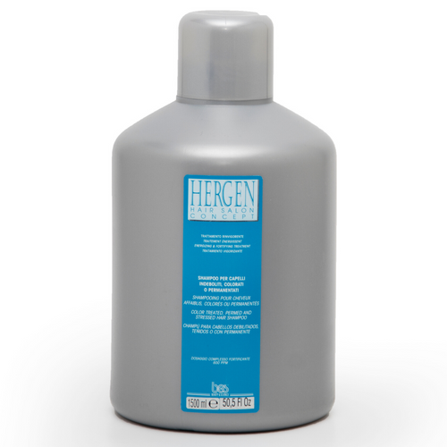 HERGEN BLUE LEAVE IN TREATMENT FOR COLOR TREATED, PERMED AND STRESSED HAIR 1500 ML