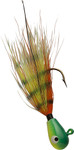 Perchie coloring for bucktail jig