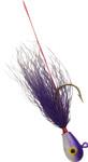 Purple Head/Purple Body bucktail jig