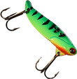 Green Glow Tiger Custom Jigs & Spins B3 Blade Bait