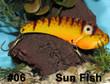 Wolf's Big Dude Blade Baits in Sun Fish - #06