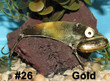 Wolf's Big Dude Blade Baits in Gold - #26