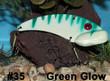 Wolf's Big Dude Blade Baits in Green Glow - #35