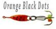 Orange Black Dots