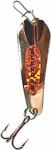 Custom Jigs & Spins Slender Spoon Gold/Orange