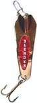 Custom Jigs & Spins Slender Spoon Gold/Red