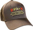 B-Fish-N Tackle New Era Wool Structured Ball Cap Grey