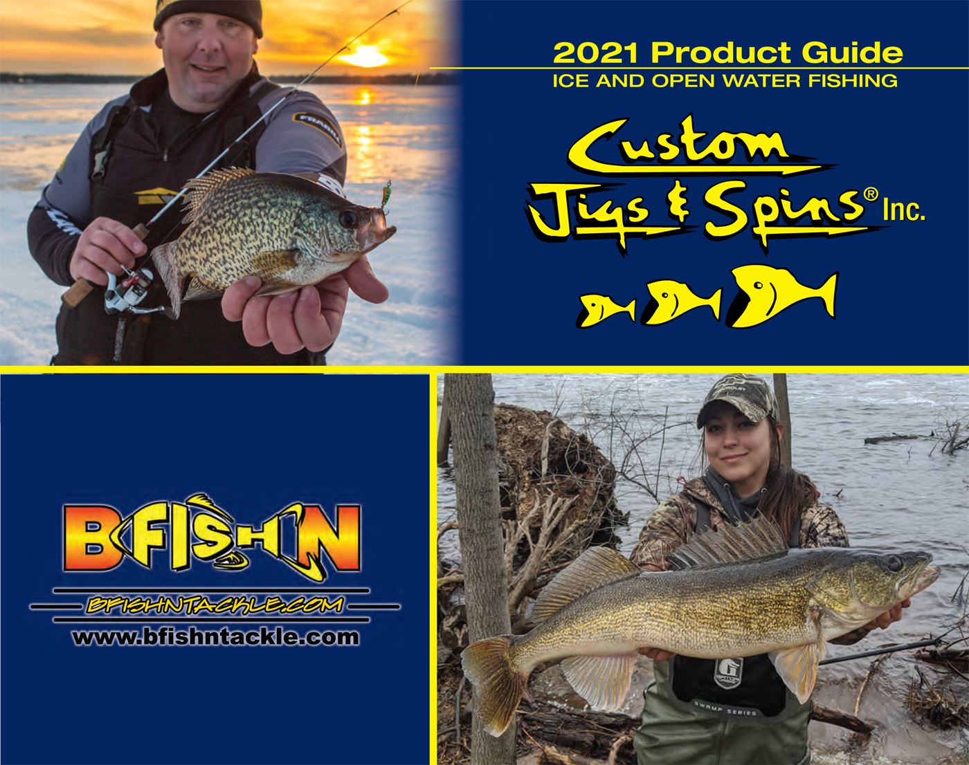 Cover image from Custom Jigs & Spins 2021 Catalog. Download it now