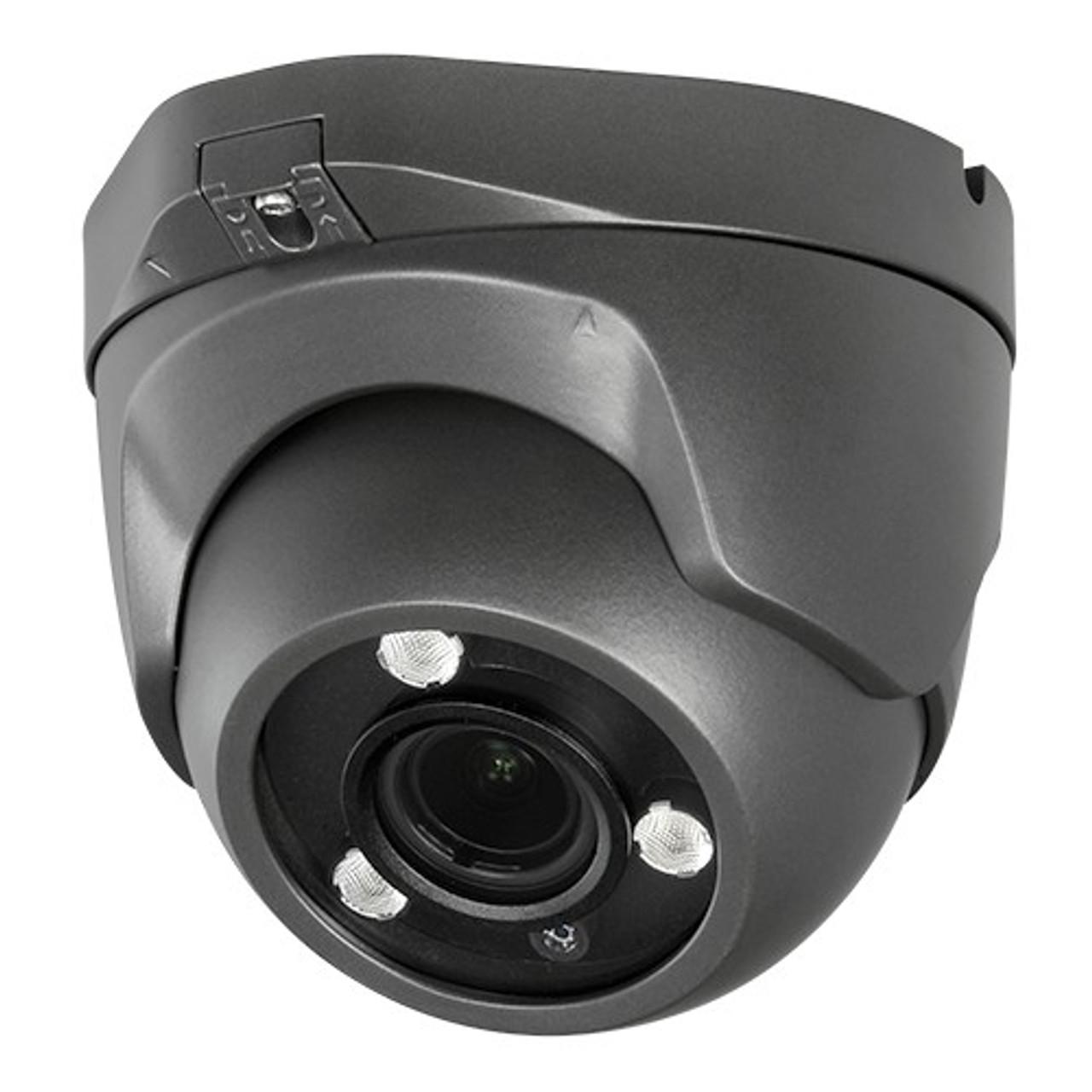 2MP TVI 2.8MM-12MM Gray Varifocal Eyeball Dome Camera