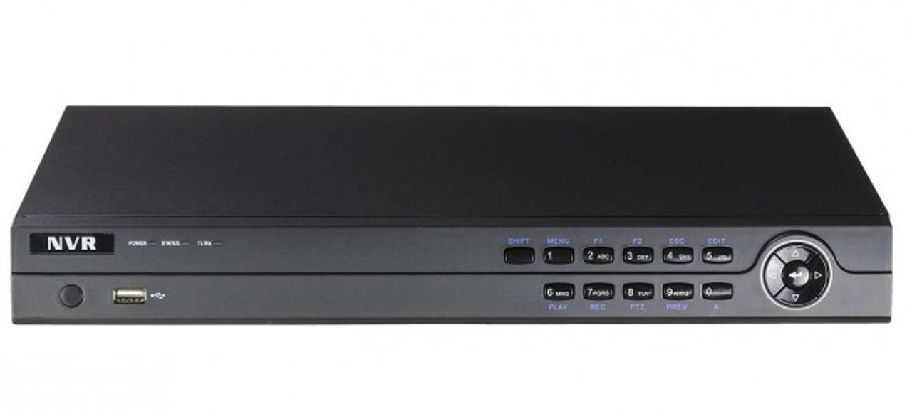 8CH 4k NVR w/ PoE (No HDD)