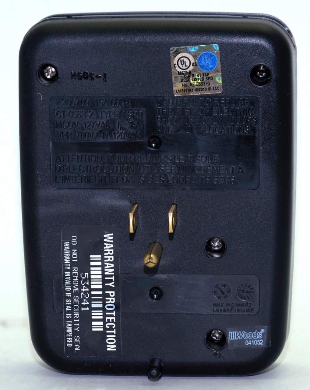 Hidden Wall Outlet Adapter Camera