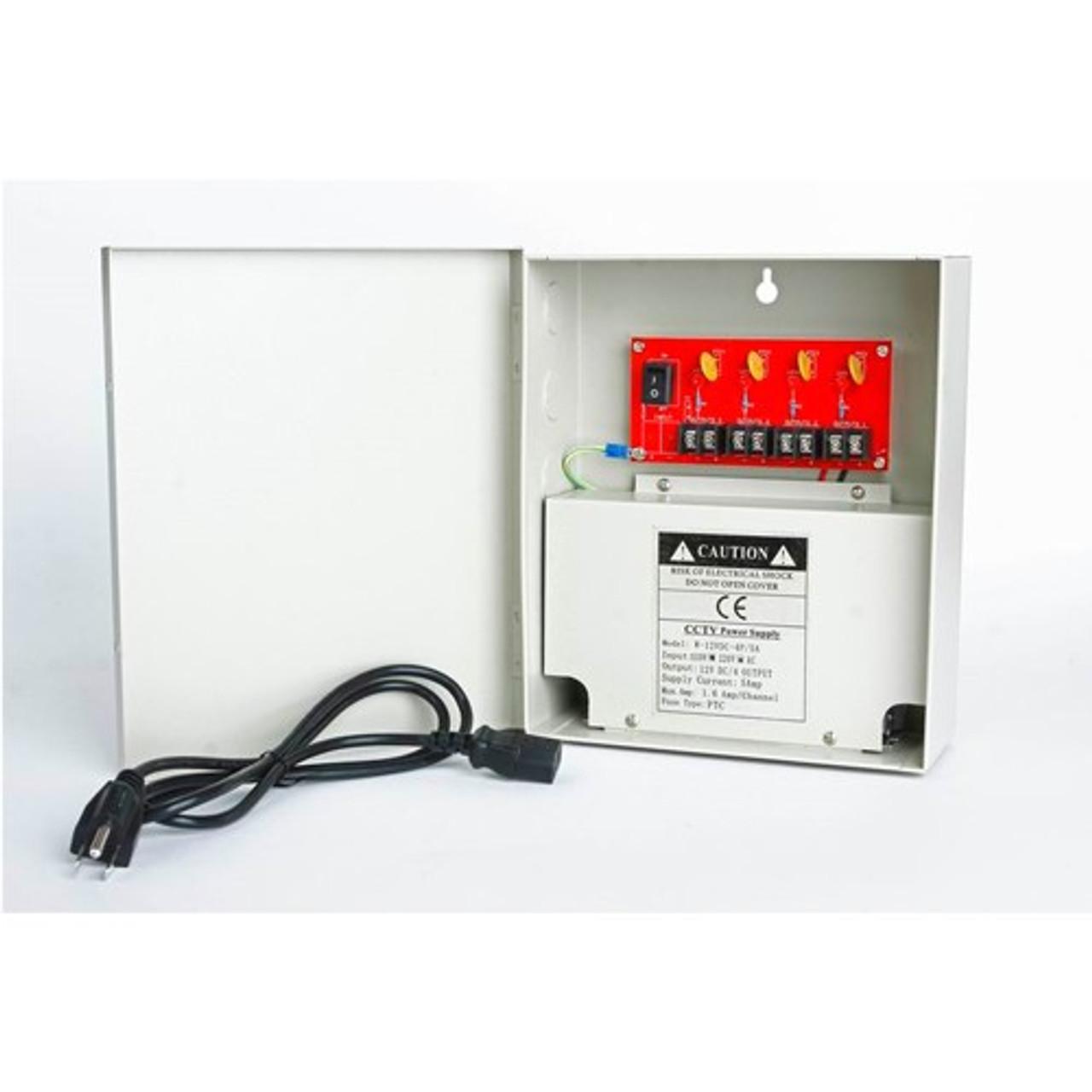 4CH 12V 5A Power Box