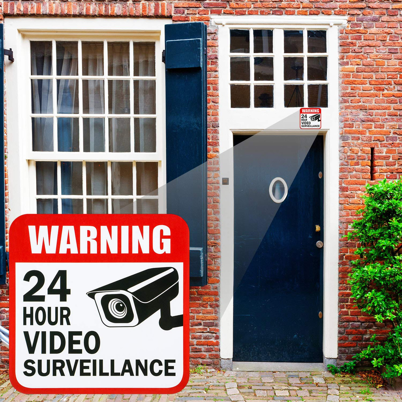 CCTV Warning Sticker