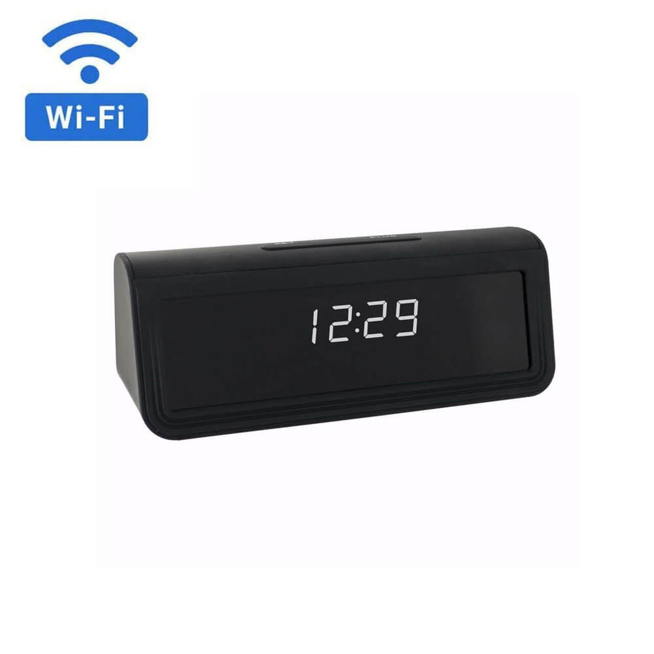 4K WiFi Hidden Clock Camera