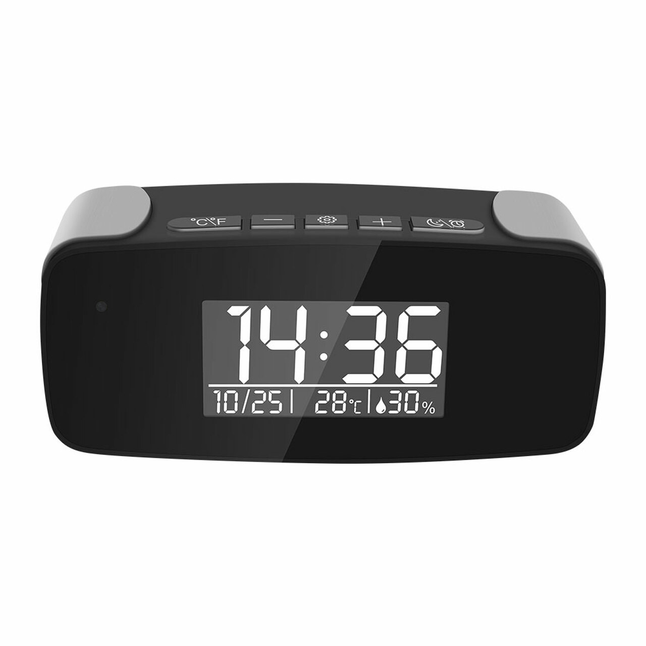 2MP Stylish WiFi Clock Camera