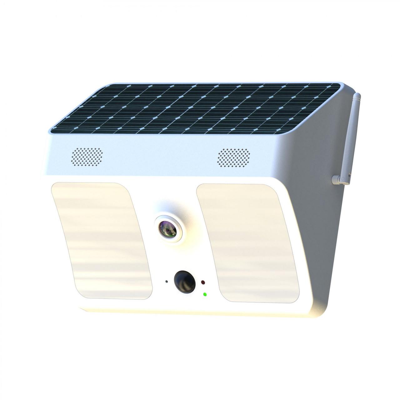 Solar Powered Floodlight WiFi Spy Camera