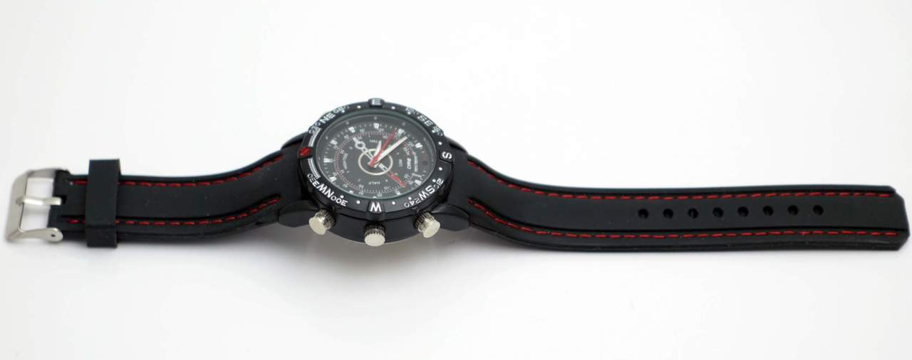 Sport Watch with Hidden Spy Camera and Recorder