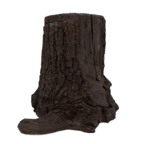 4k Tree Stump Hidden Camera