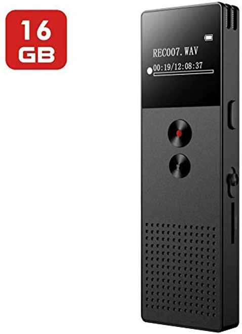 16GB Digital Voice Recorder