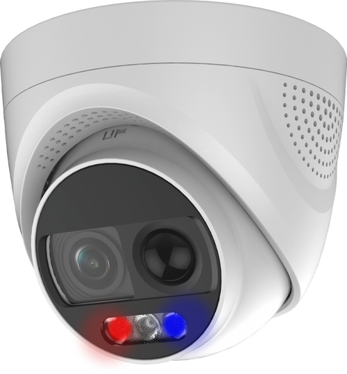 2MP TVI 3.6MM 24/7 Color Dome Camera