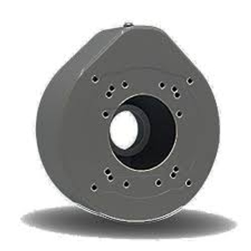 Gray Round Large Junction Box