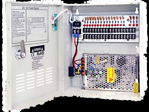 18CH 12V 20A Power Box