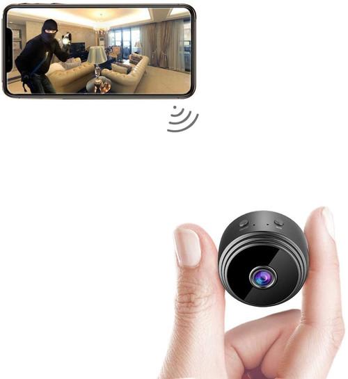 2MP Mini WiFi Camera with Night Vision
