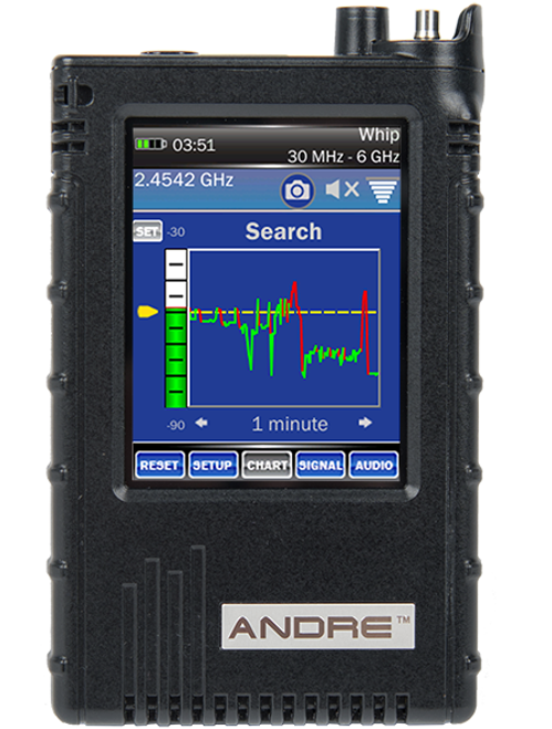 Andre Advanced Handheld Broadband Receiver