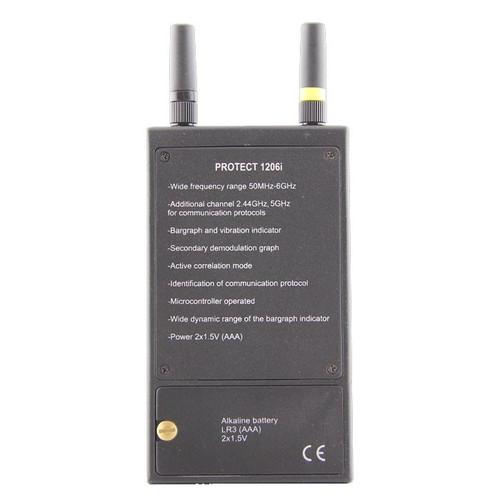 Professional Digital RF Detector DD1206