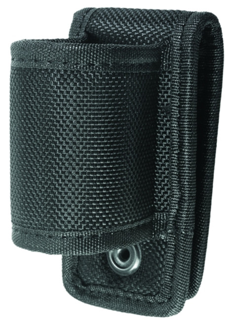 "Ballistic Open Top & Open Bottom Flashlight Holder, Large, Fits Belt: 2 -1/4"""